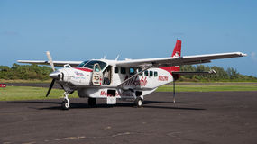 Island Hopper. An Island Hopper of Mokulele Airlines makes interisland travel quick and inexpensive royalty free stock photos