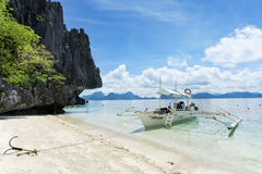 Island hopping in El Nido, Palawan - Philippies. Royalty Free Stock Photography