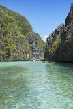 Island hopping in El Nido, Palawan - Philippines Stock Image