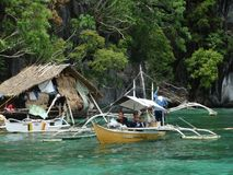 Coron, Palawan, Philippines. Island hopping Royalty Free Stock Image