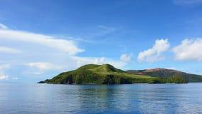 Island on the horizon Royalty Free Stock Photography