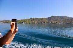 Island of Hydra Stock Image