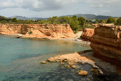 Island Ibiza in Spain Royalty Free Stock Photo