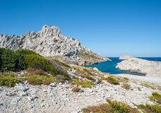 Island Ile Maire near Marseille in France Stock Images