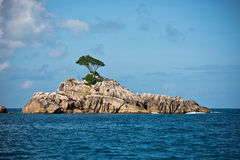 Island in the Indian ocean Stock Images