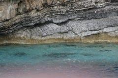 Island in the Ionian Sea Stock Photo