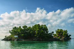 Island in the Ionian sea, Parga Stock Photo