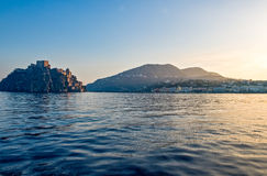 The island of Ischia Royalty Free Stock Images