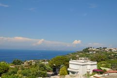 island of ischia in Italy stock photography