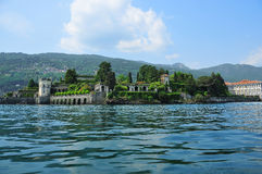 The island of isola bella Stock Photo