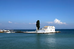 Island isolated house royalty free stock photography