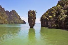The island of James Bond Stock Photo