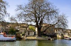 Island of Jannina at Greece Stock Image
