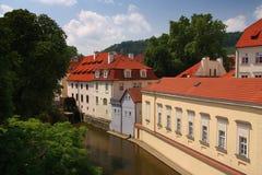 Island Kampa (Prague, Czech Republic). Romantic island in the middle of the historic city Stock Photo