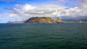 Island of Kauai As Viewed From The Pacific Ocean Royalty Free Stock Images