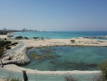 Island kish in iran. Nature, sea royalty free stock photo