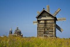 Island Kizhi, wooden architecture Stock Photo