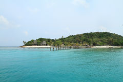 Island Koh kham Royalty Free Stock Photography