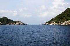 Island of Koh Nang Yuan in Thailand. Island of Koh Nang Yuan, near koh tao, in Thailand Royalty Free Stock Image