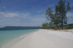 Island of Koh Rong Stock Image
