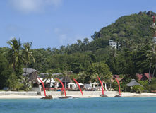 Island Koh Samui view Royalty Free Stock Image