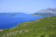 Island Korcula - Croatia royalty free stock photos