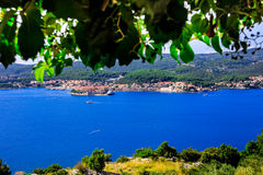 Island Korcula Stock Photography