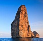 Island in Krabi province of Thailand Stock Image