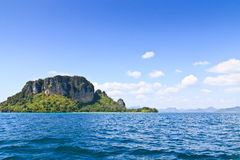 Island in Krabi from Thailand Royalty Free Stock Images