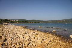 Island of Krk. Croatia, Europe Royalty Free Stock Images