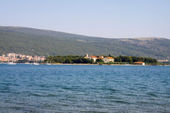 Island of Krk. Croatia, Europe Royalty Free Stock Photography