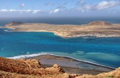 Island of La Graciosa Stock Photos