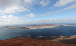 Island La Graciosa, Lanzarote Royalty Free Stock Images