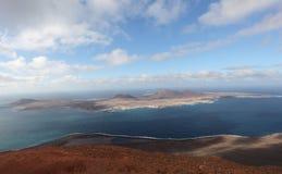 Island La Graciosa, Lanzarote Royalty Free Stock Images