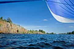 Island on the Ladoga lake Royalty Free Stock Photos