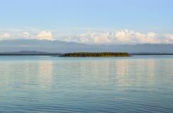 Island, lake Royalty Free Stock Image