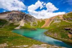 Island lake, Colorado Royalty Free Stock Image
