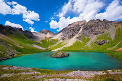Island lake, Colorado Royalty Free Stock Images