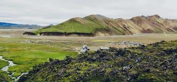Island, Land des Eises und des Feuers! lizenzfreie stockfotografie