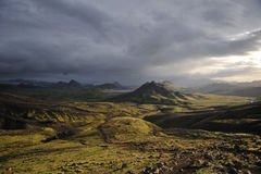 Island landscape Stock Photography