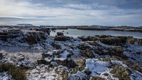 Island-Landschaftsabenteuer stockfotos