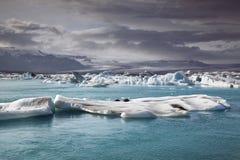 Island landskap. arkivfoto