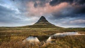 Island landskap arkivbilder