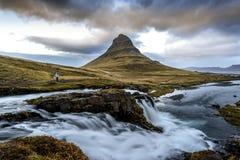 Island landskap royaltyfri fotografi
