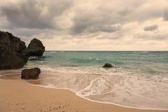 Island life on Okinawa 3. Over look on the West coast of Okinawa Japan Stock Image