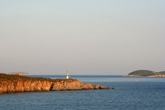 Island Light-House Stock Photo
