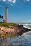 Island Lighthouse. Barber's Point Lighthouse, Oahu Hawaii, 2009 Royalty Free Stock Photo