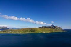 Island on Lofoten Stock Image