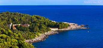 Island Lokrum Stock Photo