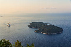 Island Lokrum Royalty Free Stock Photo